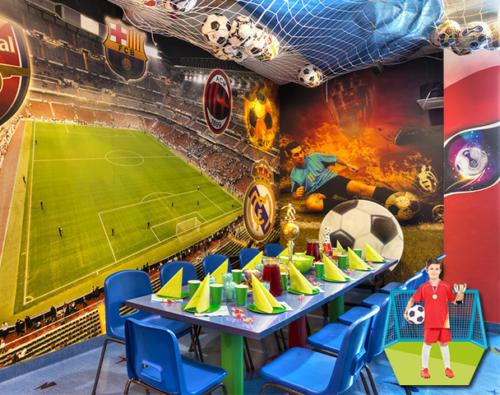 Sala urodzinowa dla wszystkich małych fanów sportu
